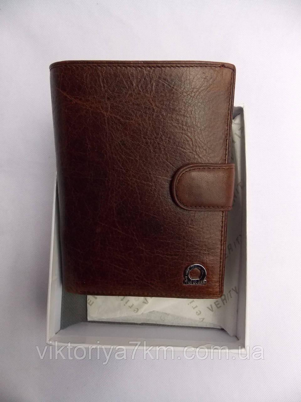 """Кошелек мужской кожаный (10х14 см) """"Purse"""" P/LG-1006"""