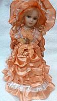 Кукла колекционная фарфоровая Маша высота 42 см