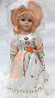 Кукла колекционная фарфоровая Лилия высота 42 см