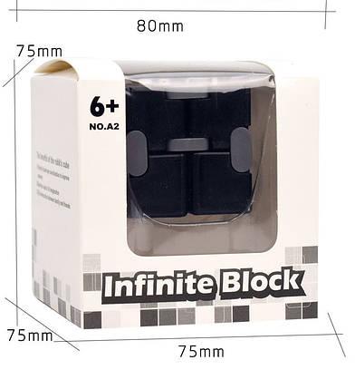 Нескінченний куб infinity cube чорний, фото 2