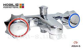 Смеситель для ванны NOBILI NUOVA FLORA моноблок NZ06002-Z CR (Италия)