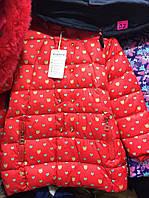Детская зимняя курточка 122-140р для девочки