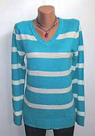 Модный Полосатый Свитер от Janina Размер: 46-M