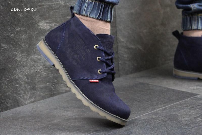 Чоловічі зимові черевики Levis сині (3435) - Камала в Хмельницком fd132bc694d6b