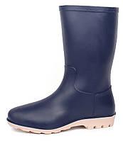 Сапоги резиновые женские синие Rubber boots, Синий, 41
