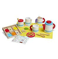 Деревянный набор Чайный сервиз Melissa&doug (MD19843)