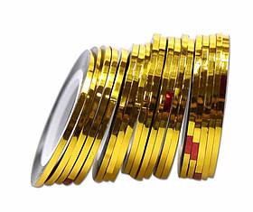 Лента для дизайна ногтей 1 шт 3 мм