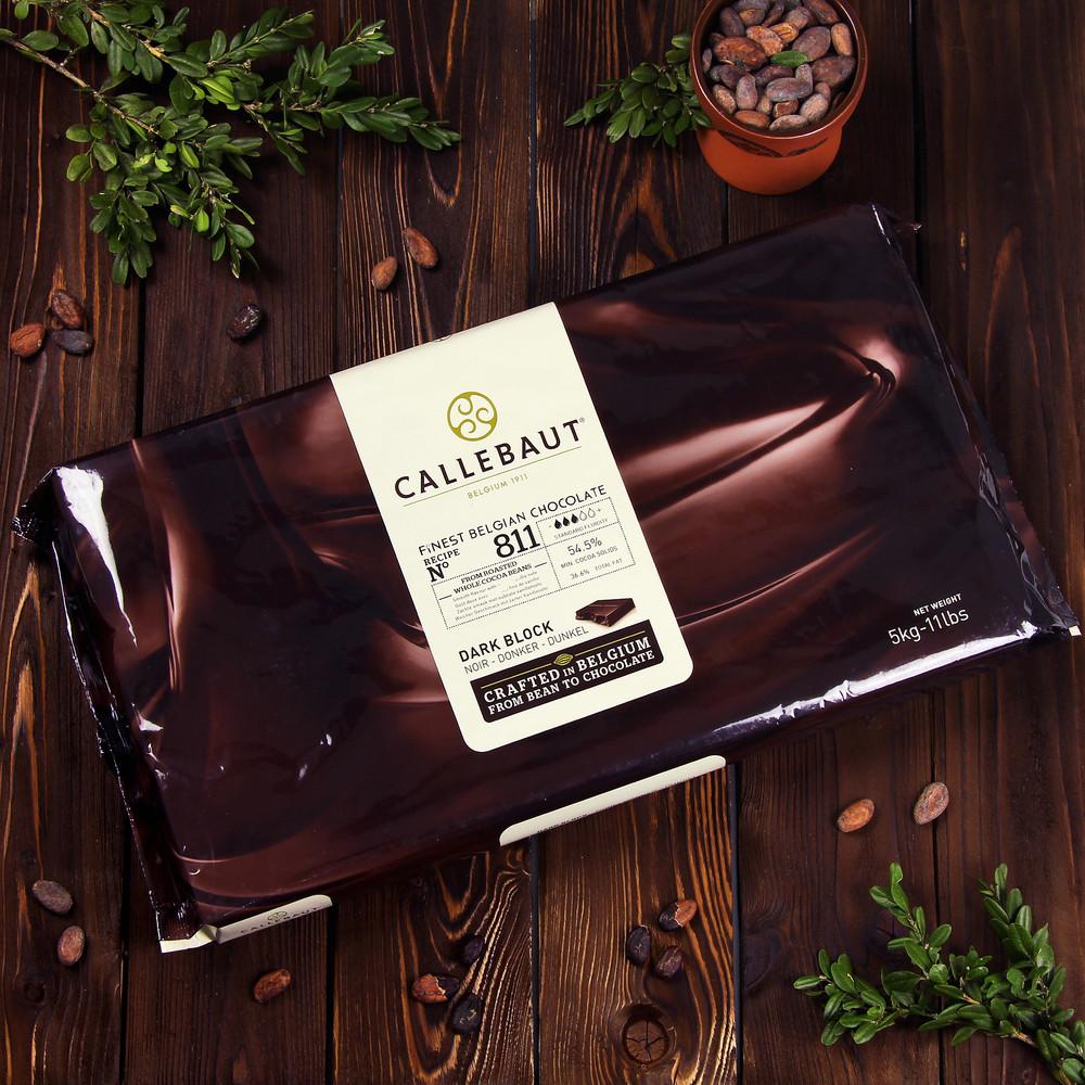 Темний шоколад Barry Callebaut з натуральною ванілью сорти Bourbon