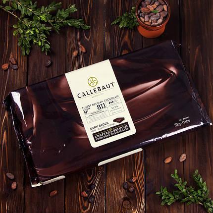 Темний шоколад Barry Callebaut з натуральною ванілью сорти Bourbon, фото 2