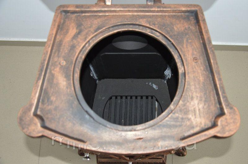 Камин печь печка буржуйка чугунная Bonro Gold 9 кВт Топка