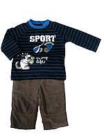 Детский Комплект: джемпер, брюки для мальчика 3 месяца