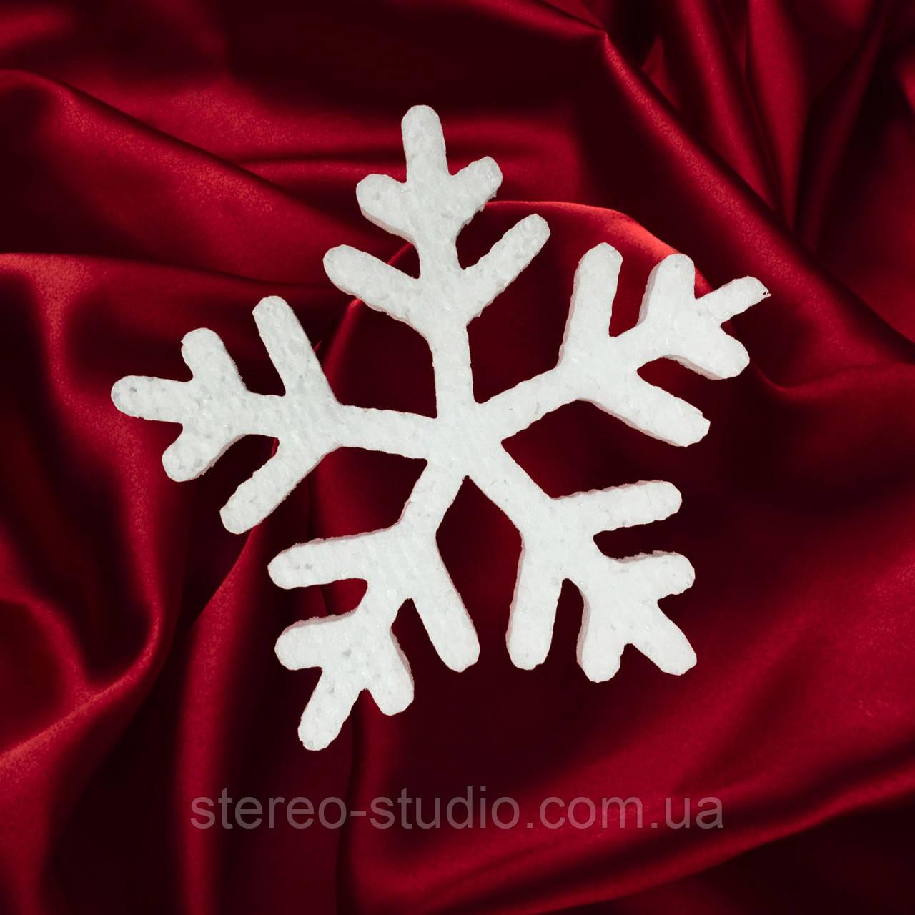 Снежинка из пенопласта №4 (20см, 30см, 40см, 50см, 60 см, 70 см, 80 см, 90см, 100см)