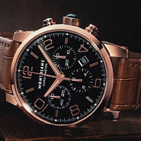 Механические Часы Montblanc Timewalker Rose Gold, Реплика, Мужские