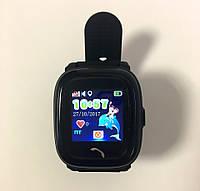 Водонепроницаемые Умные Детские Часы с GPS трекером Smart Baby Watch DF25 Черные