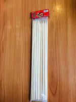 Бамбуковые палочки для шашлыка толщина 1см,плоские