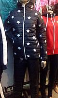 Зимняя женская куртка 42-48р ситепон+мех в ассортименте
