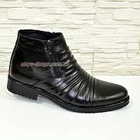 Классические кожаные мужские зимние ботинки. (арт. 193), фото 1