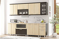 Кухня модульная  Тера Плюс 2,0 м / 2,6 м