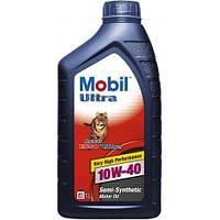 Моторное масло Mobil Ultra 10w-40, 1 кг