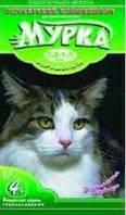 Комкующийся мелкозернистый наполнитель для кошачьего туалета, гранулы 0,8 - 1,5 мм