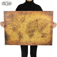 Декор: Ретро стиль - Винтажная морская карта.
