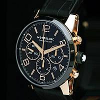 Часы Montblanc Timewalker black, механические копия