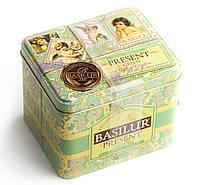 Чай зеленый Basilur Подарок Зеленый 100г