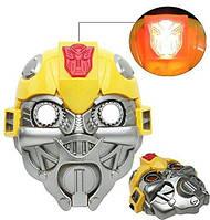 Маска любимого героя Бамблби со светом - Mask Bumblebee, TF4, Zest