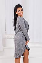 ДР1547 Платье ассиметричное размеры 50-56, фото 3