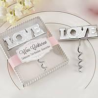 "Подарки гостям на свадьбе - Штопор ""Love"""