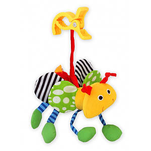 Погремушка с клипсой Baby Mix TE-9188-12 Пчела