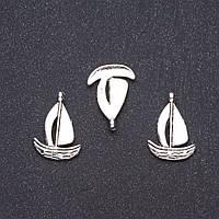 Фурнитура подвеска Кораблик 1,9х1,3см