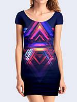 Платье Пирамидальный орнамент