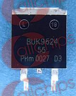 MOSFET N-Канал 55В 46А 76мОм NXP BUK9624-55A TO263
