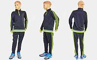Костюм для тренировок по футболу детский LD2001T (полиэстер, р-р 26-32 (125-155), цвета в ассорт.)