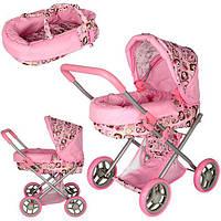 Кукольная коляска люлька Melogo 9369
