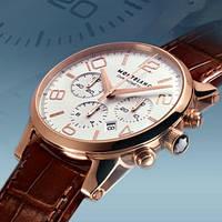 Часы Montblanc Timewalker rose gold, механические, копия