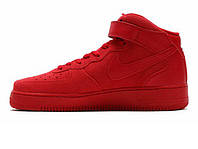 Мужские кроссовки NIKE AIR FORCE 1 MID RED OCTOBER