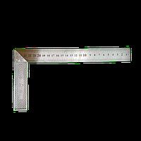 Угольник столярный 250мм нержавейка/алюминий
