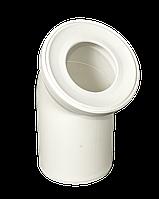 Колено канализационное АБУ 110 х 45  Европласт