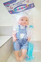 Кукла Пупс Baby Born  Беби Борн 38 см  + аксессуары.