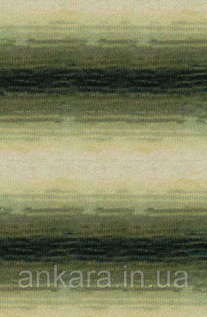 Пряжа Alize Angora Real 40 Batik 1593