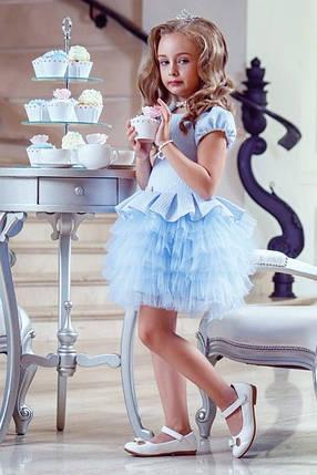 Нарядное детское платье Изысканность, фото 2