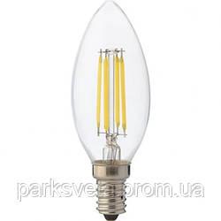 """Лампа Светодиодная """"Filament candle - 4""""4W свеча Е14 4200К, 2700К"""