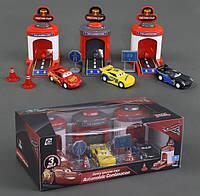 Набор машин Тачки (Cars 3) 17616-29 с запускным механизмом (3 машины)