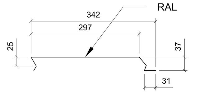 фасадная панель либерти бесшовная разрез
