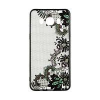 Накладка для Samsung Galaxy J700 J7 / J701 J7 Neo Rock Tatoo Art Case Color Flowers