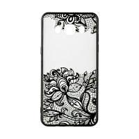 Накладка для Samsung Galaxy J700 J7 / J701 J7 Neo Rock Tatoo Art Case Fantasy Flowers