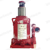 Домкрат гидравлический бутылочный красный 20т TORIN (T92007) , фото 1