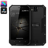 """Неубиваемый смартфон Blackview BV4000 Rock Black черный EU IP68 (2SIM) 4,7"""" 1/8GB 2/8Мп 3G оригинал Гарантия!"""